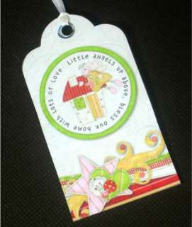 Primitive Christmas 8 Fanciful Angels Hang Tags ♥