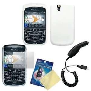 White Silicone Case / Skin / Cover, LCD Screen Guard / Protector & Car
