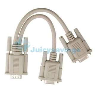MINI DVI TO VGA ADAPTER+HDMI CABLE+Y SPLIT FOR IMAC MAC