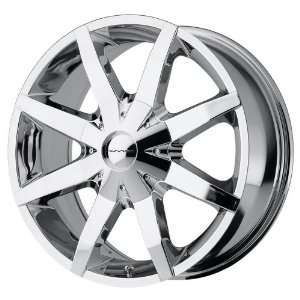 17x7.5 KMC Slide FWD (Chrome) Wheels/Rims 6x127 (KM65077565245)