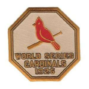 Cardinals World Series Patch Cooperstown Collection