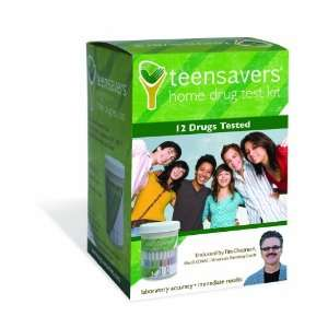 TeenSavers TSK 1200 Home Drug Test Kit with Parental Support Guide for