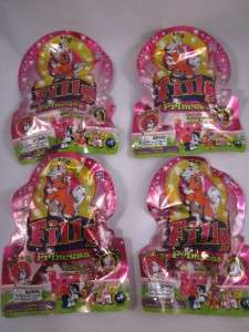 4X Foil Packs my FILLY PRINCESS philly little miniature mini PONY+12