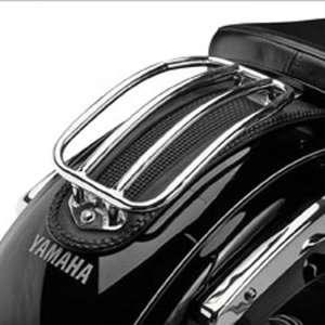 Tubular Solo Luggage Rack for 1999 2008 Yamaha Road Star Automotive