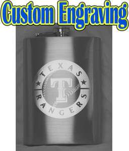 12oz Personalized Hip Flask   Your Text/Logo Custom Engraved   Gift