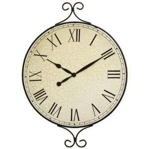 Kassel Decorative Metal Framed Wall Clock with Quartz