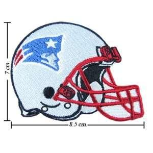 New England Patriots Helmet Logo Iron On Patches