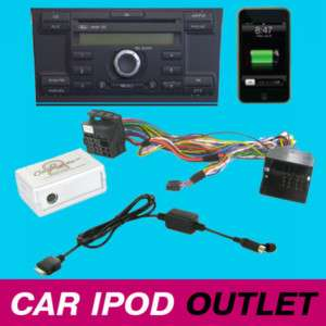 Ford Focus C Max Fiesta Mondeo iPod iPhone Interface Adaptor Kit