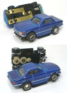 1970s Foreign HO Blue Mercedes 230Sl HO Slot Car NOS