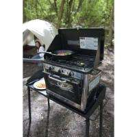 NEW Outdoor 2 Burner Gas Propane Camp Stove Range Oven