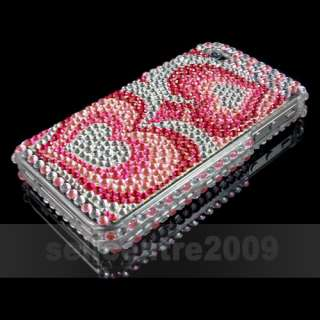 Full Bling Rhinestones Hard Case Cover iphone 4 4G 4S 16GB 32GB