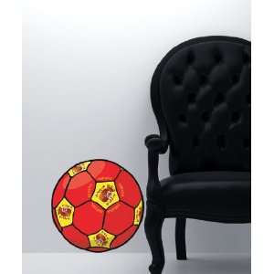 Vinyl Wall Decal Sticker Football Soccer Espana Spain
