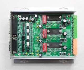Axis 3.5A TB6560 Stepper Motor Driver Board Controller Aluminum Box