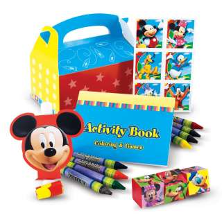 MICKEY MOUSE CLUBHOUSE PARTY FAVOR BOX BIRTHDAY TREAT
