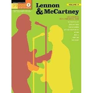 Lennon & McCartney   Pro Vocal Songbook Volume 19   Book