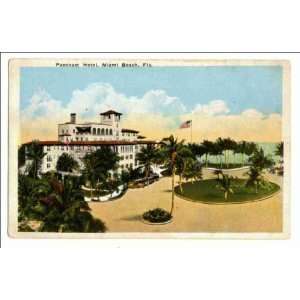Reprint Pancoast Hotel, Miami Beach, Fla: Home & Kitchen
