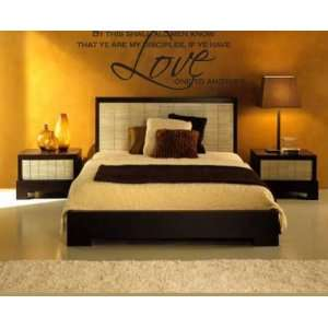 Love one to anothervinyl Decal Wall Sticker Mural: Everything Else
