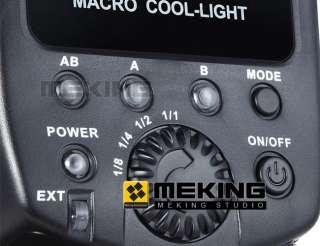 Macro Close Up O Ring LED Light YJ 675 Lighting for Canon Nikon sony