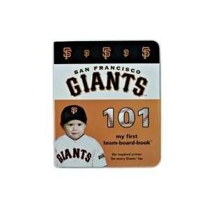 San Francisco Giants 101 my first team board book