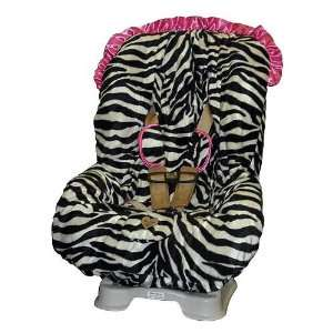 Maya Pink Zebra Toddler Car Seat Cover Baby Bella Maya Toys & Games