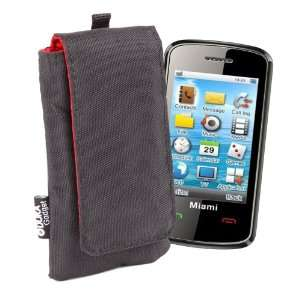 DURAGADGET Black Mobile Phone Cushioned Cover In Hardy