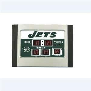 New York Jets NFL Scoreboard Desk Clock
