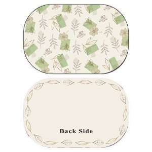 Placemats  Corelle Textured Leaves Reversible Placemat