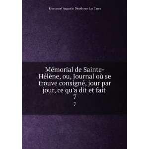 Mémorial de Sainte Hélène, ou, Journal où se