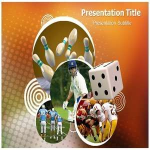 PowerPoint Templates   Background On Games PPT Templates Software