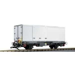 LGB G Scale Kuehne and Nagel Container Car: Toys & Games
