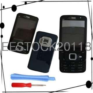 Nokia N96 Full Housing Fascia Shell Case Cover W/Keypad Faceplate