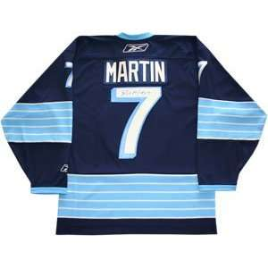 Paul Martin Autographed Jersey   2011 Winter Classic