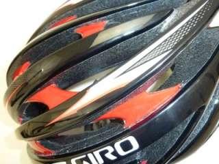 2011 Giro Aeon bicycle helmet RED BLACK LARGE NEW