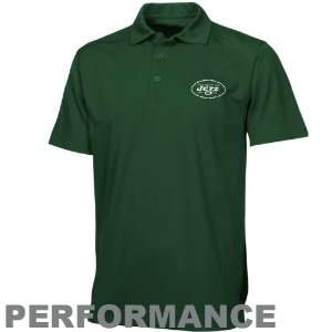 & Buck New York Jets Green Genre Performance Polo