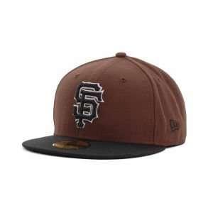 San Francisco Giants New Era 59FIFTY MLB BW 2 Tone Cap