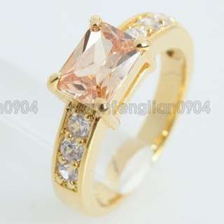 2ct Cubic Zirconia 18k Gold Plated New Arrival Cute Ring