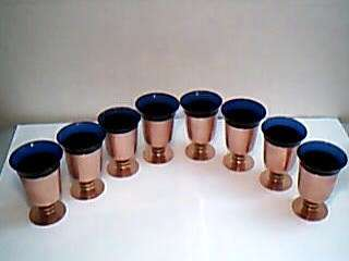 Walter Von Nessen Art Deco Machine Age Cocktail Cups