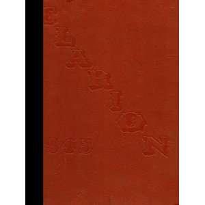 (Reprint) 1945 Yearbook University High School