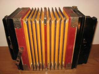 CONCERTINA, 10 BUTTON, WORLDS BEST GRAND PRIX 1926, GERMANY