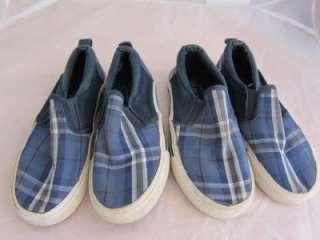 Girls (Y) TCP Childrens Place Shoes Plaid Twins Sz 12