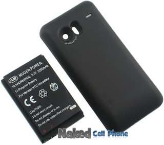 MUGEN 3200mAh EXTENDED BATTERY FOR HTC DROID INCREDIBLE