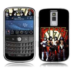 MS KISS10007 BlackBerry Bold  9000  KISS  Love Gun Skin Electronics