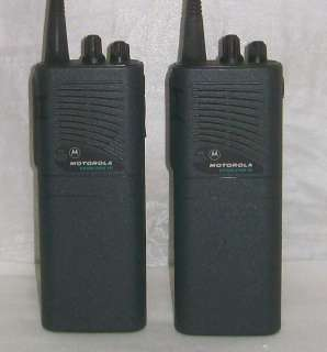 Motorola Handi Com 10 GMRS DPS two way radios, walkie talkies
