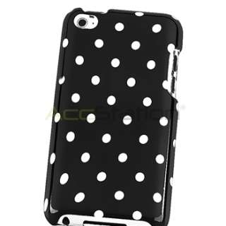 For Ipod Touch 4G 4th Gen Polka Dots Hard Case Cover New