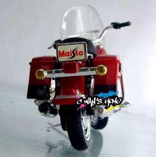 18 Harley Davidson 1999 FLHR ROAD KING Diecast Motorcycle Model