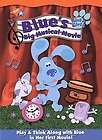 BLUES CLUES   BLUES BIG MUSICAL MOVIE   NEW DVD