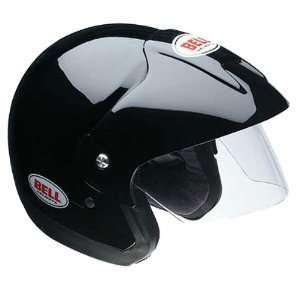 Bell Solid Mag 8 Harley Cruiser Motorcycle Helmet   Black