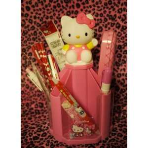 Hello Kitty School Supplies Value Set with Pencil Holder