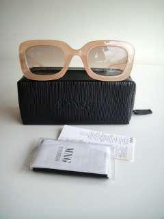 BNWT MNG Mango fashion retro vintage beetle Lanvin sunglasses