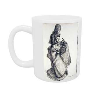 ink on paper) by Erin Townsend   Mug   Standard Size: Home & Kitchen